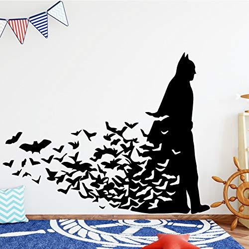 Yaonuli Fledermaus Vinyl muursticker jongens slaapkamer decoratie ruimte met afneembare vinyl sticker