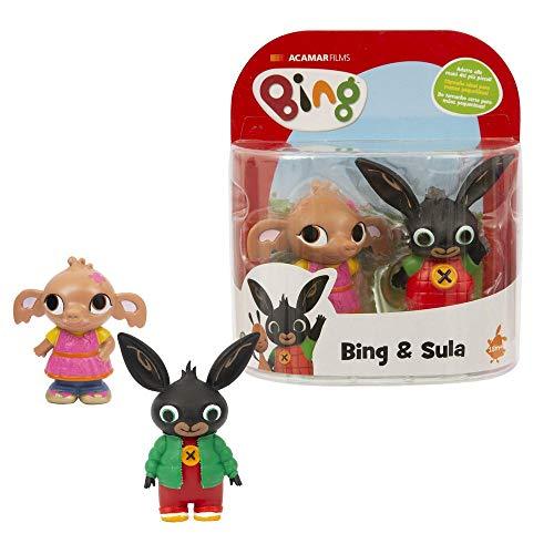 Giochi Preziosi Coppia di Personaggi, Bing e Sula, Multicolore, BNG10C00