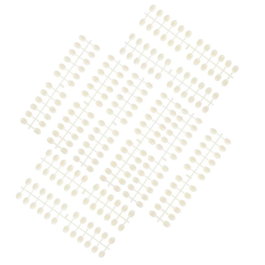 病法的個人的にB Baosity 10枚 ネイルアートチップ カラーカード プロ マニキュア 3タイプ選べ - ラウンドビーズ