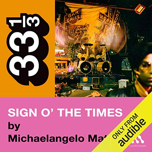 Prince's Sign o' the Times (33 1/3 Series) cover art