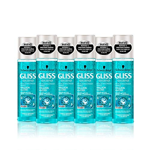 Gliss Express Million Gloss Conditioner, 6er Pack (6 x 200 ml) - Total: 1200 ml