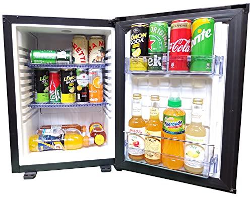 Sirge FRIGO35L0D Frigorifero mini frigo 34 Litri frigobar SILENZIOSO termoelettronico senza compressore Frigo Frigo-Bar NERO [400(L) x 425(P) x 560 (H) mm] - IDEALE PER HOTEL