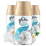 Glade (Brise) Automatic Spray Nachfüller Vorteilspack, Raumduft, Pure Clean Linen, 3er Pack (3 x...