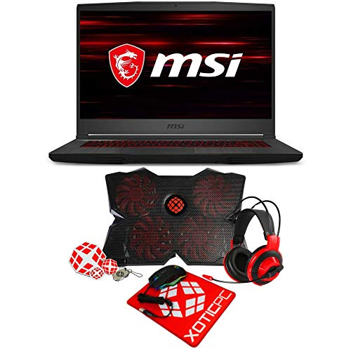 MSI Essential GF65 Thin 15.6' 144 Hz IPS Intel Core i5 9th Gen 9300H (2.40 GHz) GeForce RTX 2060 32 GB Memory 512 GB NVMe SSD Windows 10 Home 64-bit 9SEXR-839 Gaming Laptop