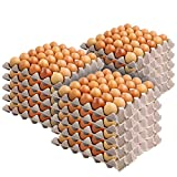 Stock Your Home 30-Cell Egg Crates (15 Pack) - Recyclable & Stackable Pulp Fiber Egg Flats for Packing Eggs, Small Tools, Automotive Parts - Cardboard Egg Cartons for Soundproofing for Walls