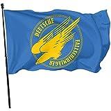 AmyNovelty Seasonal Garden Flags,Ww2 Deutscher Fallschirmjäger - Fallschirmjäger-Flaggen-Kreative Haus-Garten-Fahnen Für Haus-Hinterhof-Rasen 180 * 120cm