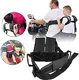 Motocicleta cinturón de seguridad niño Cinturón de seguridad de motocicleta ajustable para niños Bicicleta eléctrica Cinturón de seguridad infantil Cinturón de protección