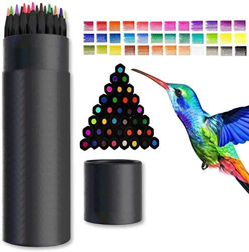 Buntstifte Set, Surcotto 36er Profi Farbstifte für Erwachsene, Kinder, Künstler, Wasserlösliche Malstifte, ideal zum Zeichnen Vermischen und Überlagern - mit Leuchtende Farben