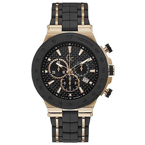 GC Uhr Analog mit Kautschuk Armband Y35001G2