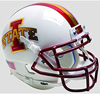 Schutt Iowa State Cyclones White Officially Licensed XP Authentic Football Helmet