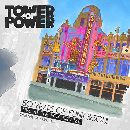 50イヤーズ・オブ・ファンク・アンド・ソウル・ライヴ・アット・ザ・フォックス・シアター / タワー・オブ・パワー (50 Years Of Funk & Soul : Live At The Fox Theater - Oakland, Ca – June 2018 / Tower Of Power) [2CD+DVD] [Import] [Live] [日本語帯・解説付き]
