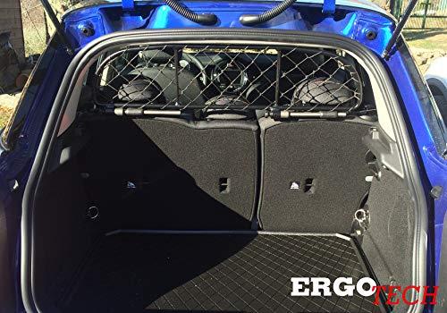 ERGOTECH Rejilla Separador protección RDA65-XXXS, para Perros y Maletas. Segura, Confortable para tu Perro, Garantizada!