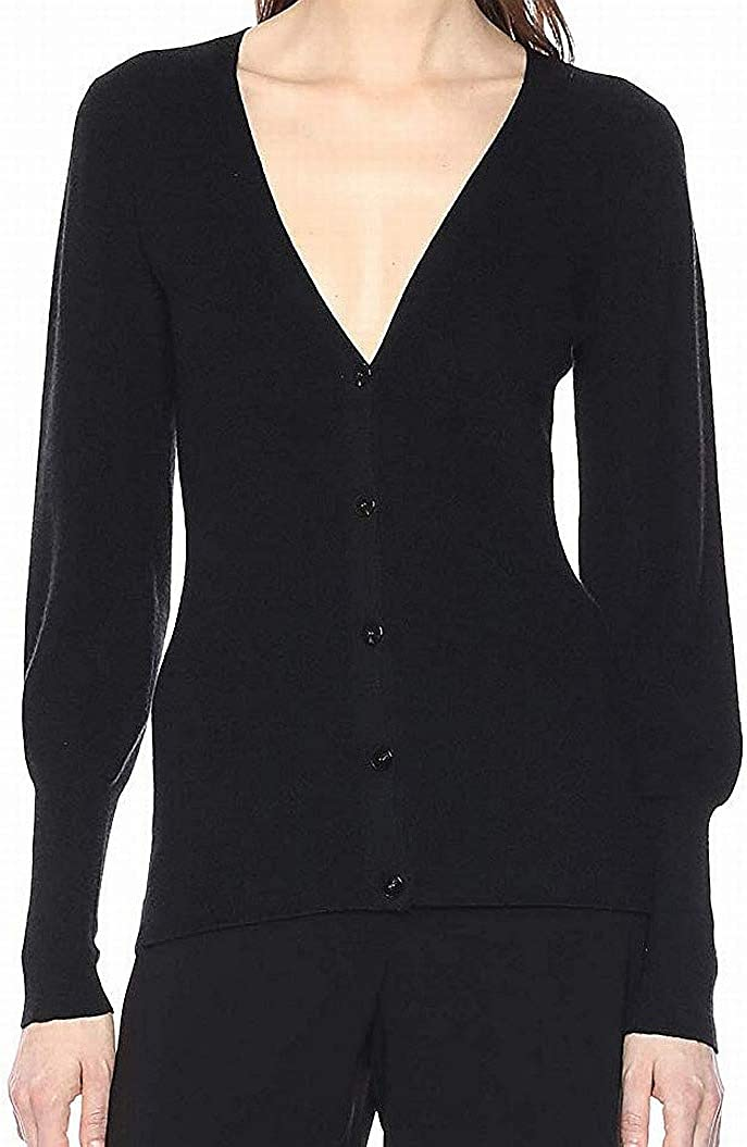 Theory Women's Blouson Sleeve Button Front Cardigan