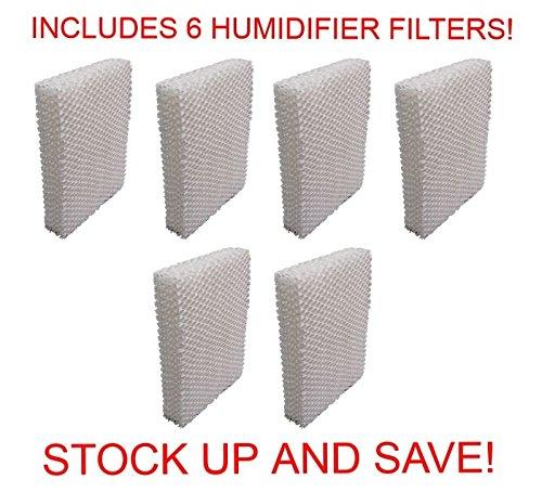 RO6G Humidifier Filter for Vornado Evap1 Evap2 Evap3 (6-Pack)