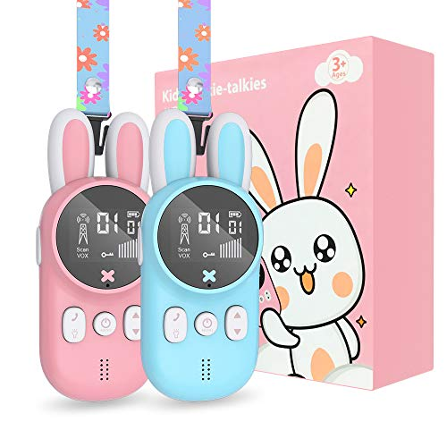 Gifts for 3-12 Year Old Boys, Kids Walkie Talkies, Kids Toys for Boys Age 4 5 6 7 8 9 10, 22 Channels 3 KM Long Range 2 Way Radio, Toddler Christmas Birthday Gifts Ideas