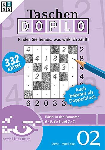 Doplo 02 - Auch bekannt als Doppelblock (Doplo Taschenbuch / Logik Rätsel) (Doplo / Auch bekannt als Doppelblock)