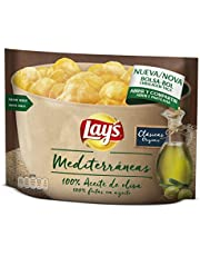 Lay's Mediterraneas Patatas Fritas con Aceite de Oliva - 175 g