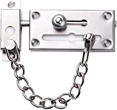Hardware Deurkettingen, RVS Anti-diefstal Chain BYDNBY Home Hotel Deur Van De Veiligheid Button Security Lock Buckle Keten...