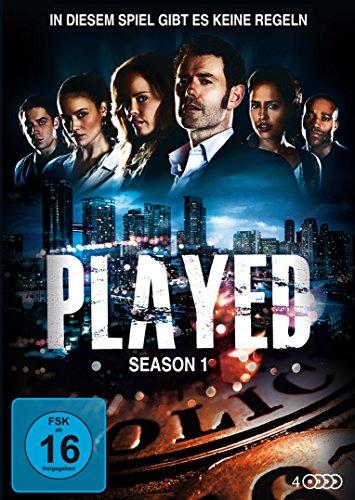 Played - Staffel 1 (4 DVDs)