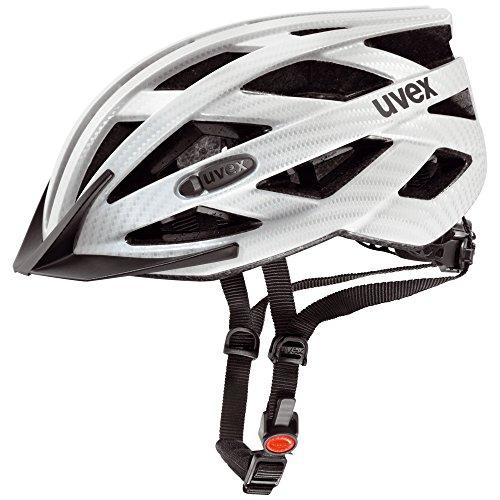 Uvex Unisex– Erwachsene i-vo cc Fahrradhelm, white carbon look mat, 56-60 cm