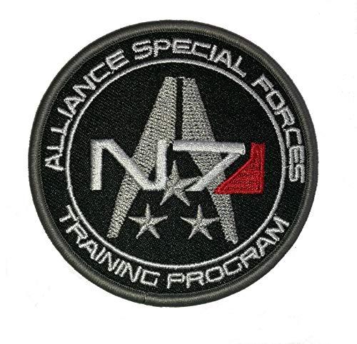 Choppershop Mass Effect N7 Systemen Alliantie Militaire Speciale Krachten Geborduurde Patch