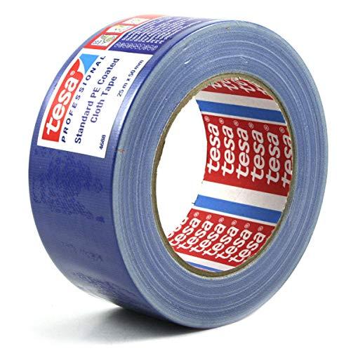 TESA 04688-00044-00 - Cinta de tejido Gaffer serie 4688-25m x 50mm Azul