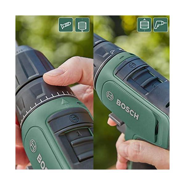 Bosch Taladro/atornillador a batería EasyDrill 1200, sistema de 12V, en maletín de transporte, 1 batería