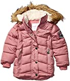 Weatherproof Girls' Little Fashion Outerwear Jacket (More Styles Available), Long Puffer Dusty Rose, 5/6