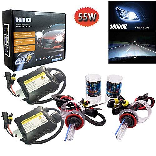 PolarLander 1 Paire CANBUS HID Xenon Kits De Voiture Phare Slim Ballast Xénon Ampoule Ballast Conversion H8 H9 H11 Couleur Température 10000 K