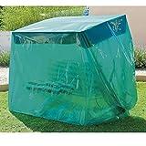 maillesac jp0017 custodia per dondolo, in plastica, dimensioni: 260 x 130 x 180 cm, colore: verde traslucido