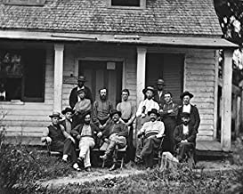 New 11x14 Civil War Photo: Provost Marshal Headquarters in North Carolina