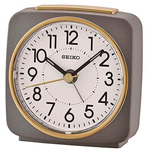 Seiko Alarm Clock, Grey-Gol