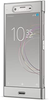 Sony◆ソニー 【ソニー純正】 Xperia XZ1用 Style Cover Touch ウォームシルバー SCTG50/S SO-01K/SOV36