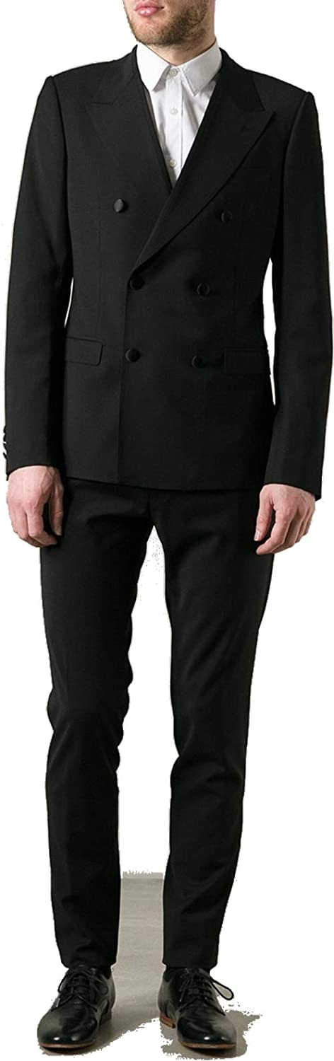 New Era Factory Outlet Men's Double Breasted Year-end gift Black Suit Fixed price for sale Dress 4