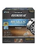 Rust-Oleum 286895 Rocksolid Metallic Garage Floor Coating, 70 fl oz, Earth Brown, 70 Fl. Oz