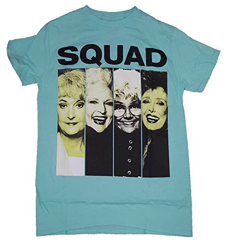 The Golden Girls Squad Photos T-shirt, Officially Licensed, Medium Size for Adults