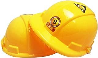 Enfant Construction Casque robe fantaisie Builder Boss hat