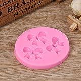 Moonlight Star 3D Flor silicón moldea la Pasta de azúcar del Arte de la Torta de Caramelo Helado de Chocolate de repostería Moldes de Herramientas for Hornear (Color : Butterfly)