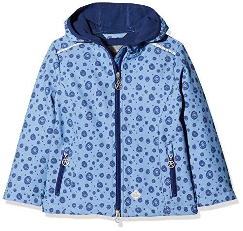 Kanz Mädchen Softshell m. Kapuze Jacke, Blau (Ultramarine|Blue 3078), 98