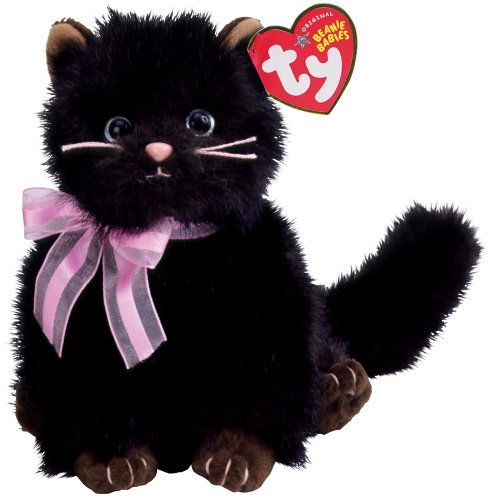 Ty Heiress The Black Cat Beanie Baby Beanies Cats