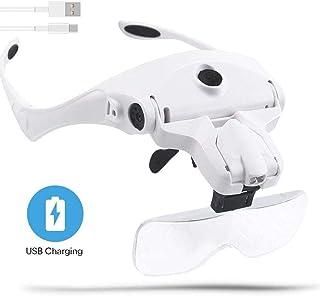 N \ A Ingrandimento 3.5X420mm Occhialini binoculari Chirurgici dentali Lente dIngrandimento in Vetro Ottico per Dentista con Clip