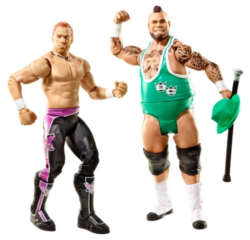 WWE - Catch - Figurines articulées - Double Pack - Série 20 Brodus Clay v's Curt Hawkins