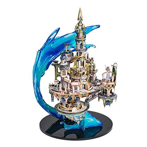 Puzzle für Erwachsene, 3D Metall Puzzle, Schwierige dreidimensionale DIY-Rätsel, Kindergeschenke, Atlantis-Modelle