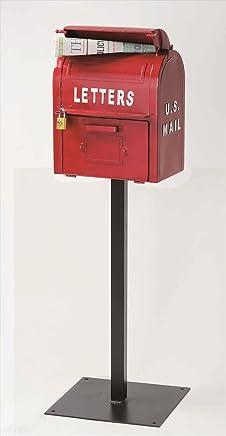 セトクラフト アメリカンヴィンテージ U.S.MAIL BOX SI-2855-RD-3000 『郵便ポスト』 レッド