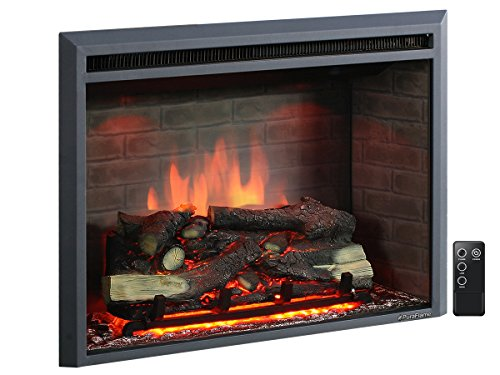 Best electric fireplace insert reviews - PuraFlame 30 Inches Western Electric Fireplace Insert