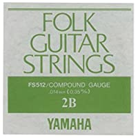 YAMAHA FS512 アコースティックギター用 バラ弦 2弦×2本