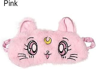 Sleep Mask Fashion Sweet Pink 3D Cat Sleep Mask Natural Sleeping Eye Mask Eyeshade Cover Shade Eye Patch Women Girl Travel Blindfold (Color : Pink)