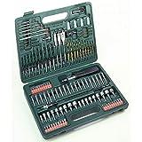 Hitachi - 705315M - Set 112 brocas de metal, madera, mapostería, plas, llaves de vaso y puntas de atornillar