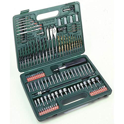 Hitachi–705315M 112Metallbohrer Set, Holz, mapostería, Plas, Steckschlüssel und Bit -