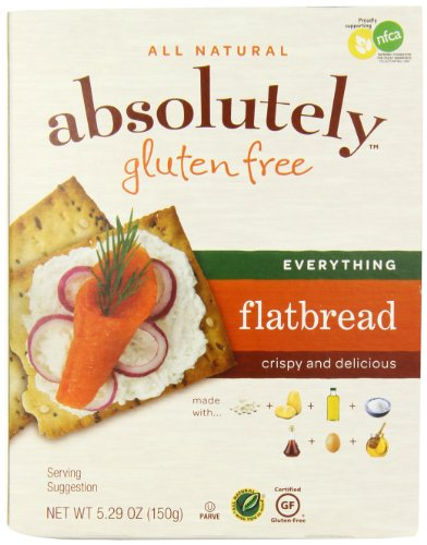 Absolutely Gluten Free Everything Flatbread, 5.29 Ounce